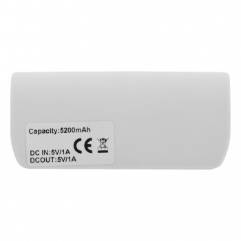 Power bank 5200 mAh